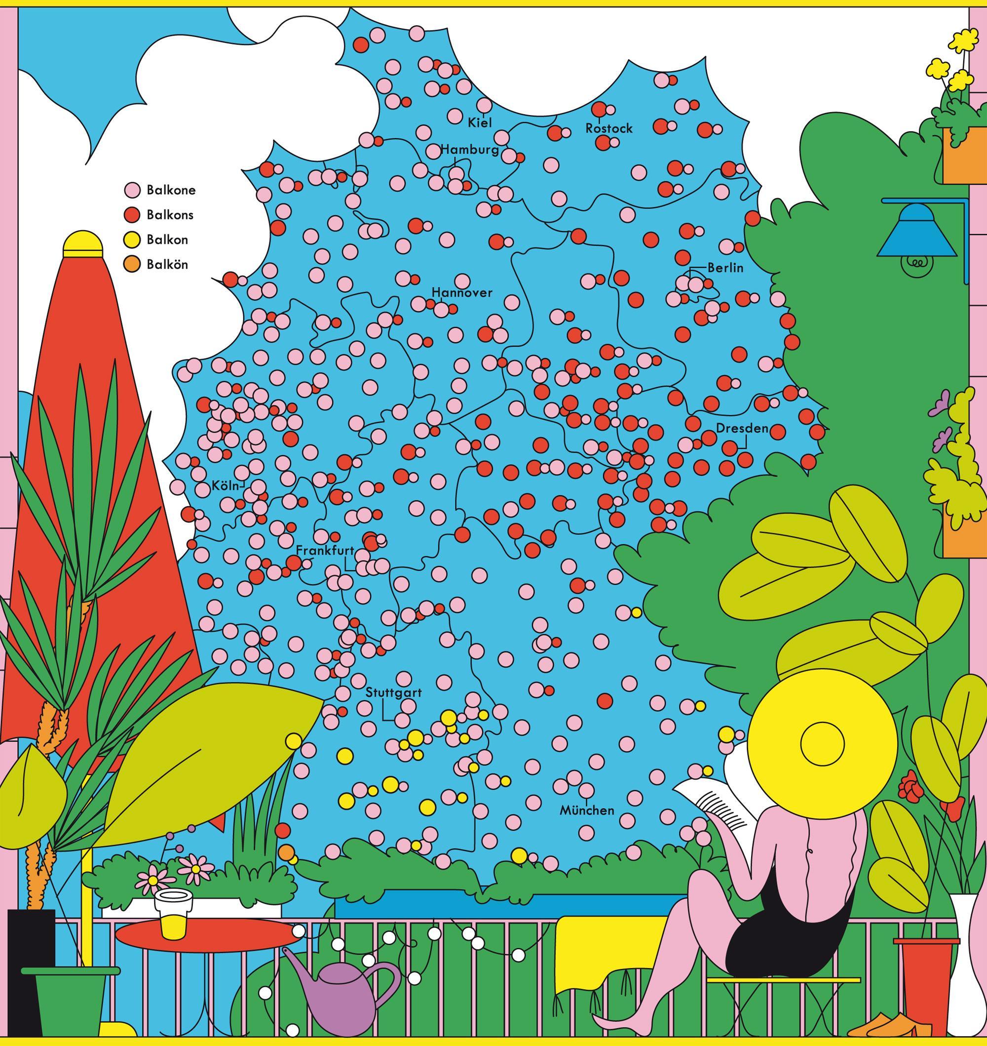 Deutschlandkarte: Öffentliche Bücherschränke   ZEITmagazin