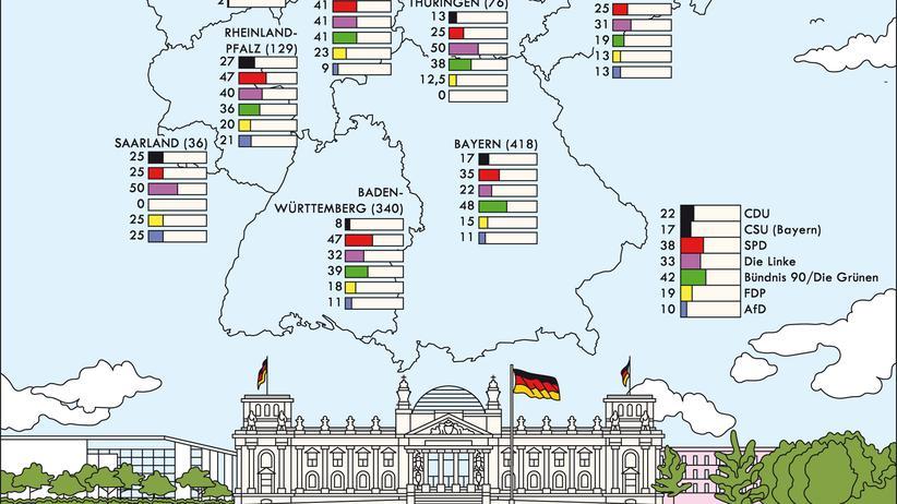 Bundestagswahl: Ein Platz auf der Liste