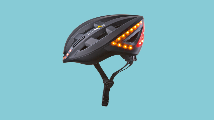 Fahrradhelm: Erleuchtung beim Abbiegen