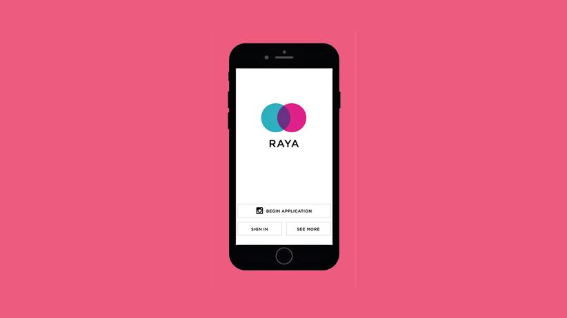 Raya-App: Date mich, ich bin ein DJ