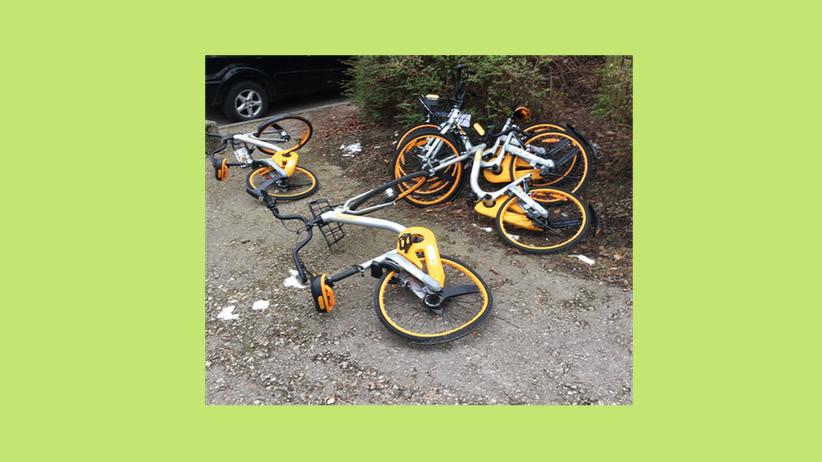 Leihräder: Rotten statt Rollen