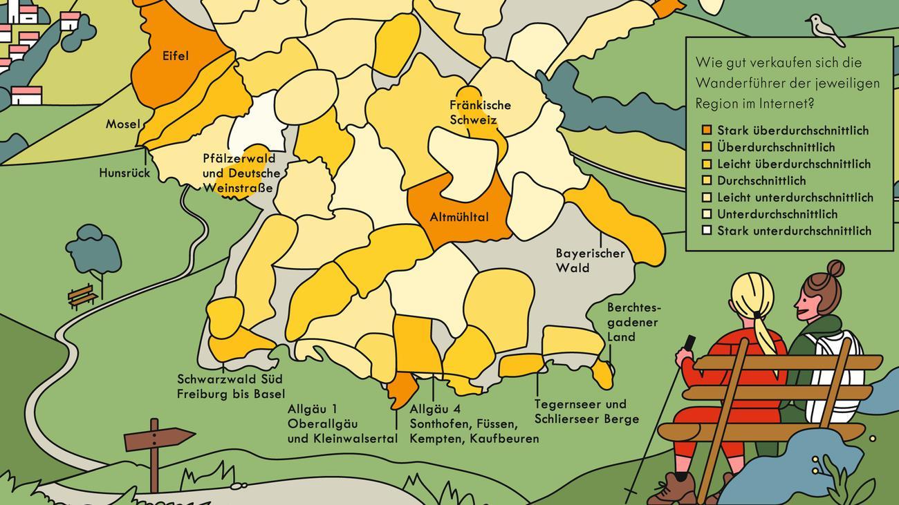 Berge Um Freiburg Karte.Tagestouren Beliebte Wanderregionen Zeitmagazin