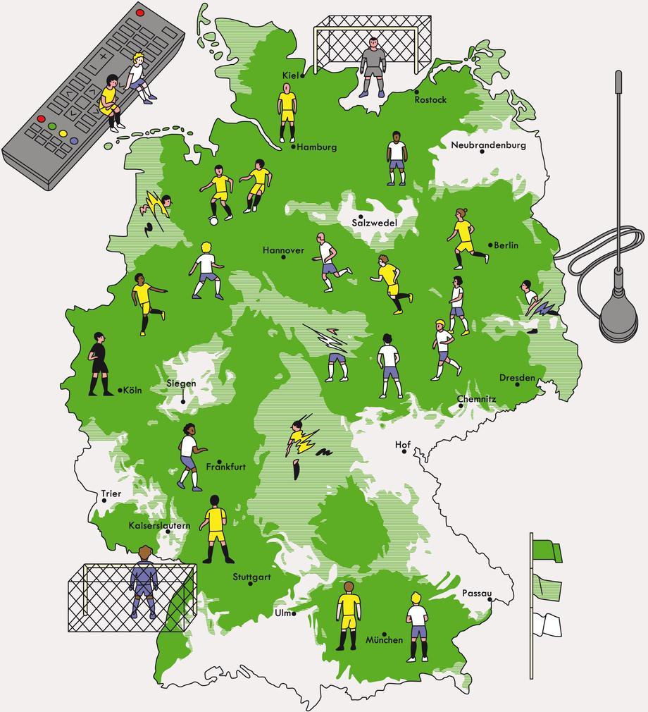 Dvb T Empfang Sachsen Karte.Antennenfernsehen Fernsehen über Antenne Zeitmagazin
