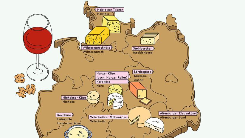 Käsesorten: Käse ist da, wo die Milch ist