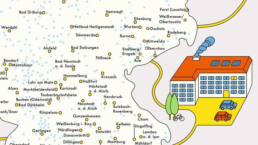 Kleinstädte: Alles, was man braucht