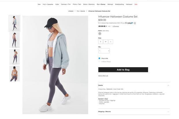 Influencer: In dieser Verkleidung ist man garantiert nicht wiederzuerkennen.