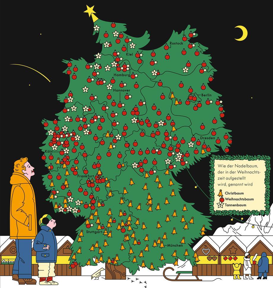 Weihnachtsbaum Fällen Berlin.Deutschland Weihnachtsbäume Zeitmagazin