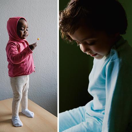 Geflüchtete Familien: Merkels Kinder