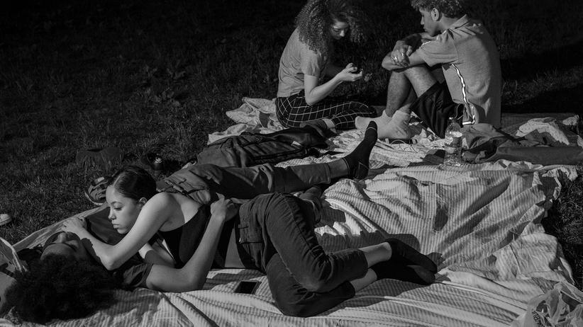 New Yorker Parks: Wenn die Nacht anbricht