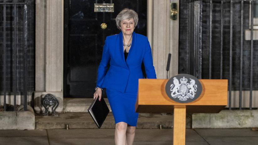 Theresa May: Die blaue Lady