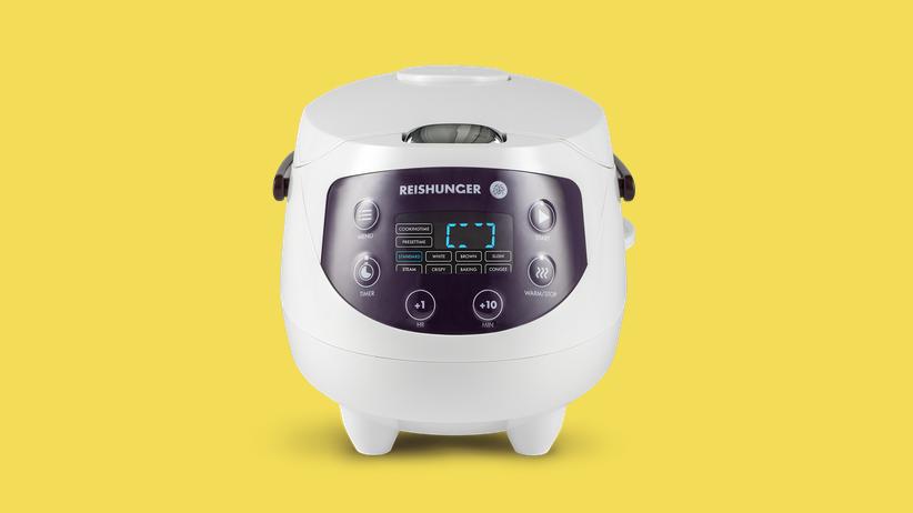 Mini-Reiskocher: Um den Reis kümmert sich der Roboter