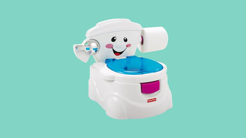 Spielzeugtoilette: Für Druffis und Draufis