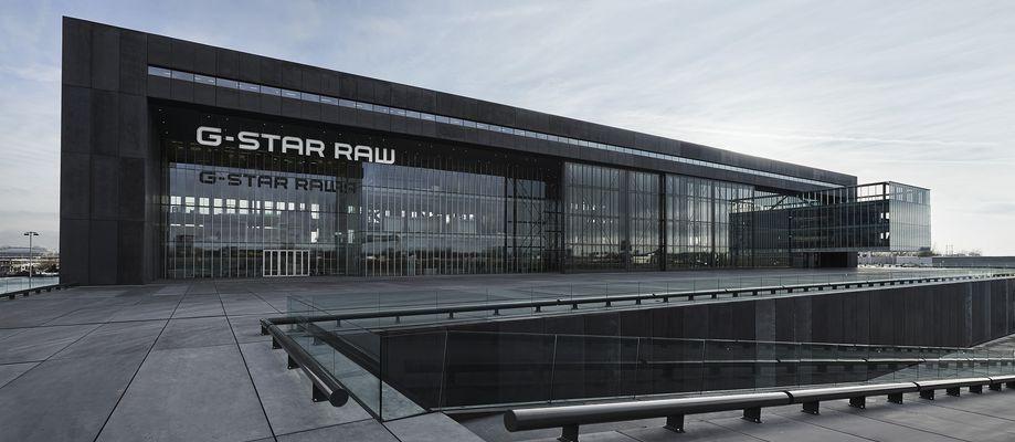 G-Star: Ein Koloss aus Beton und Glas: das Headquarter der niederländischen Jeans-Marke G-Star in Amsterdam