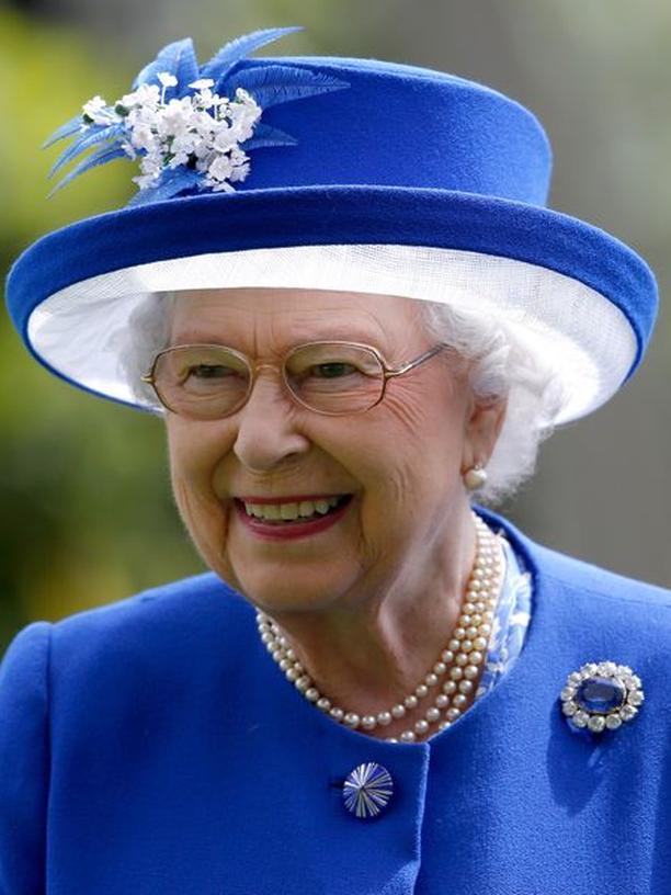 Queen Elizabeth II, Hut, Frankfurt am Main, Berlin, Großbritannien, Elizabeth II, Queen