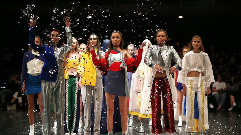 """Berlin Fashion Week: """"Ein Drink hilft immer"""""""