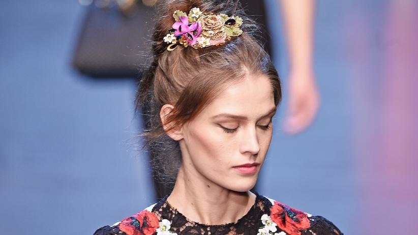 Mailand Fashion Week : Ein Flirt mit dem Zuviel