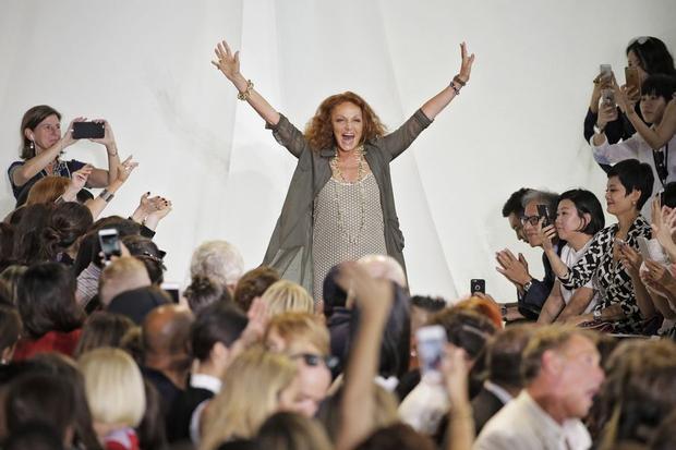Zeit Magazin, Diane von Furstenberg, Damenbekleidung, Modedesign, Mode, Bekleidung, New York