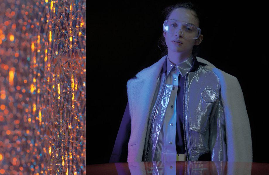 Berlin Fashion Week: Dass ethisch korrekt nicht spießig sein muss, beweisen die Entwürfe von Bobby Kolade.