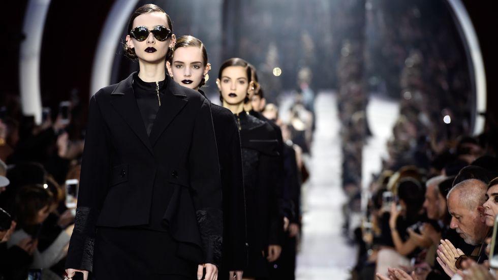 Paris Fashion Week: Das Finale der Herbst-/Wintershow von Dior