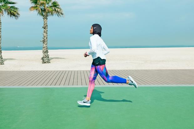 Hidschab: Sportlich verhüllt