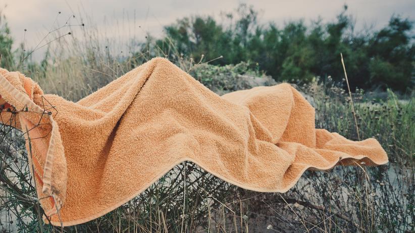 Strandtuch: Fernweh aus Frottee