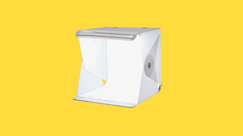 Fotografie: Ein winziger White Cube