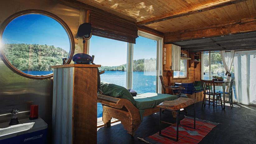 Hausboote: Wohnen wie Huckleberry Finn