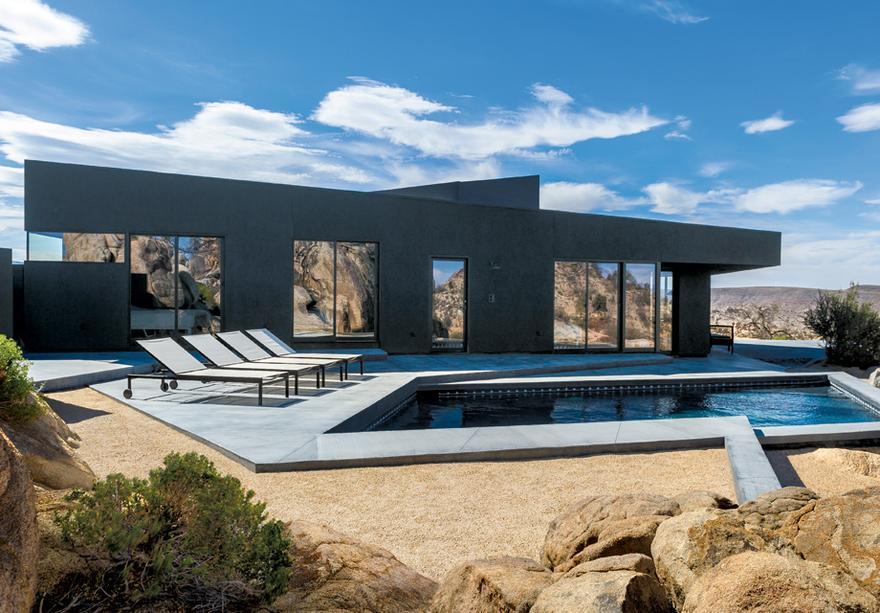 Moderne Architektur Häuser moderne architektur schwarz ist eine warme farbe zeitmagazin