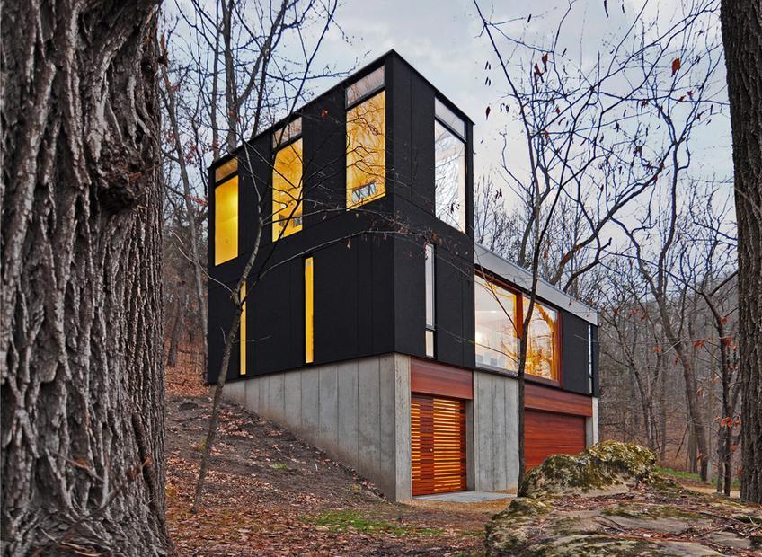 Moderne Architektur: Schwarz ist eine warme Farbe | ZEITmagazin