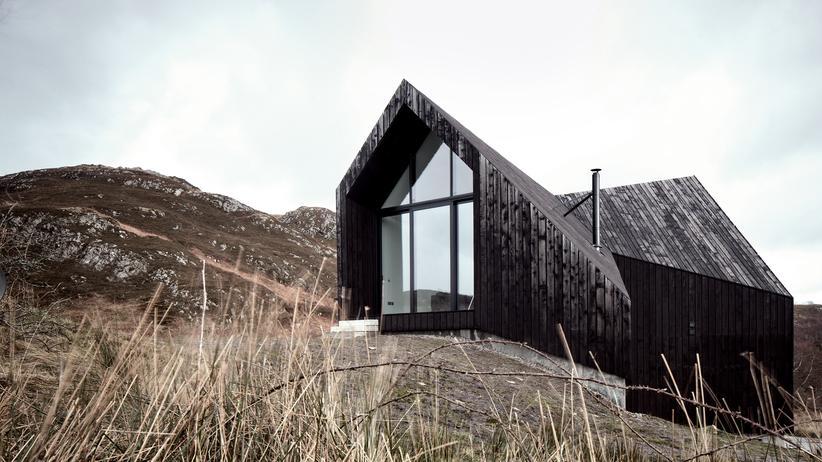 Moderne Architektur: Schwarz ist eine warme Farbe