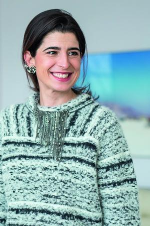 Die Designerin Dorothee Schumacher