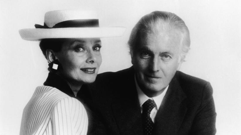 Hubert de Givenchy: Seine Muse: Mit Audrey Hepburn war Givenchy sein Leben lang befreundet.