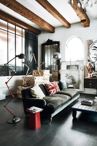 Gut bekannt Industriedesign: Wie die Werkstatt Wohnung wird | ZEITmagazin NV62