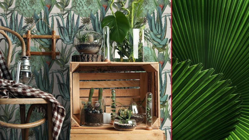 Dschungel-Muster: Pflanz dich hin