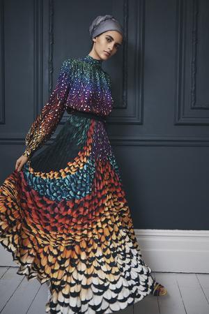 Muslimische Mode: Die Londoner Designerin Mary Katrantzou orientiert sich bereits auf dem neuen Markt.