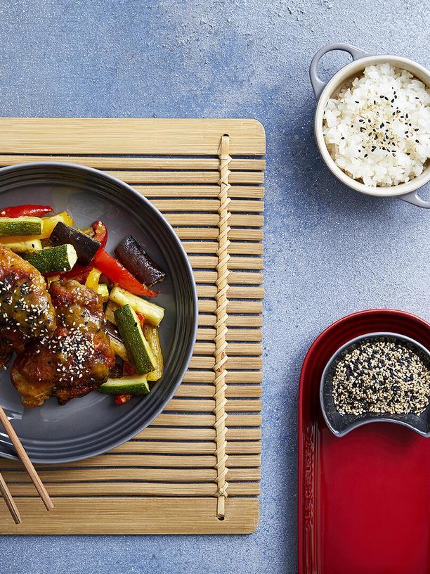 Japanisches Curry mit Miso-Hähnchen: Ein ordentliches Hähnchen