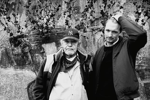 Vater-Sohn-Beziehung: Vater Nikki mit Sohn Kaspar in ihrer Heimat München