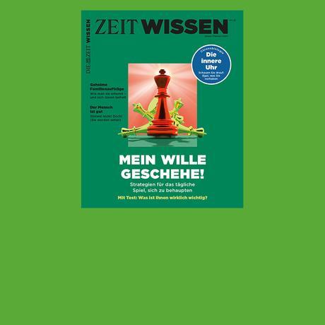 ZEIT Wissen 1/2020: Mein Wille geschehe!