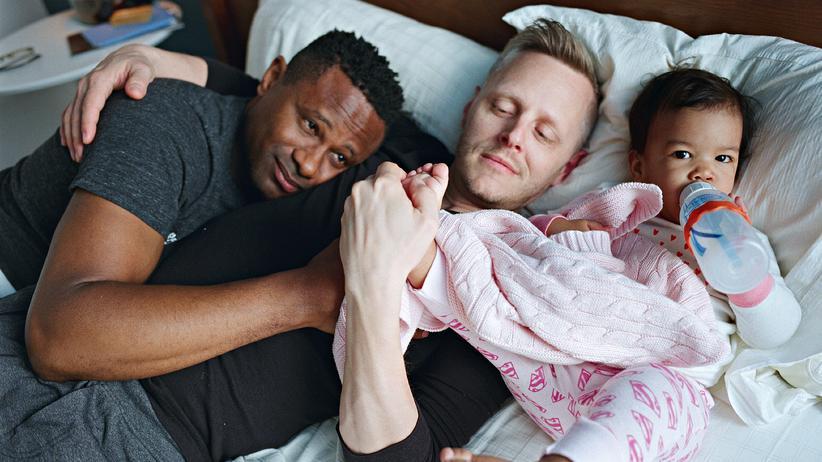 Homosexuelle Väter : Vater, Vater, Kind